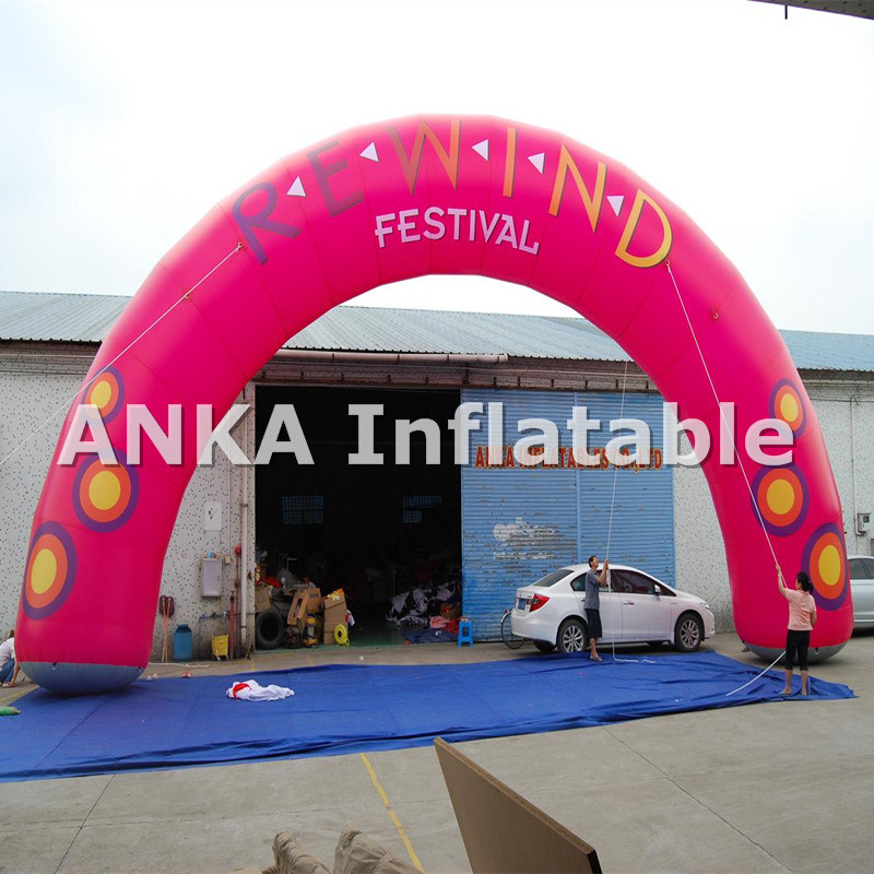 High Quality Advertising Inflatable Arch for out Door Sale