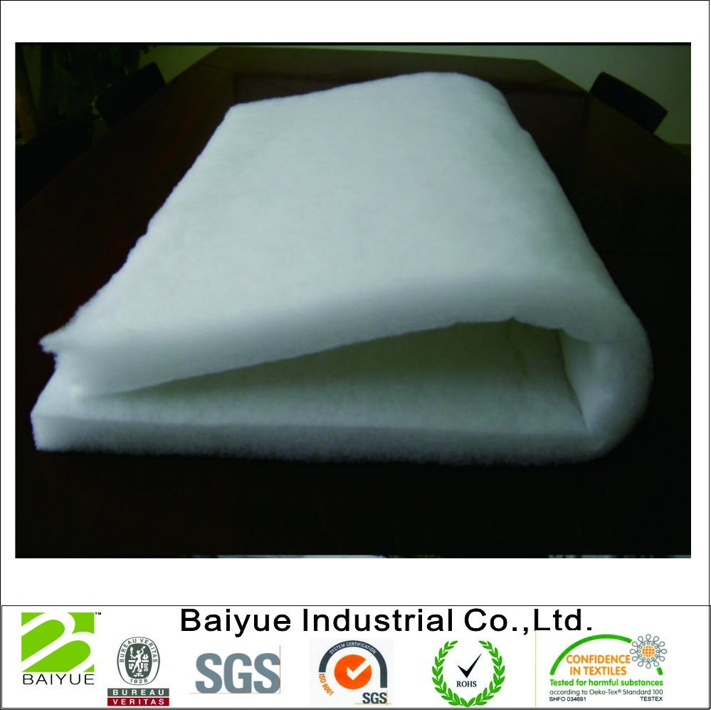 White Polyester Dacron Filling Padding For Sofa Upholstery Furniture Use