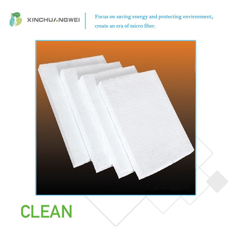 Semi-Rigid Aluminium Silicate Fiber Board Heat Insulation Ceramic Fiber Felt