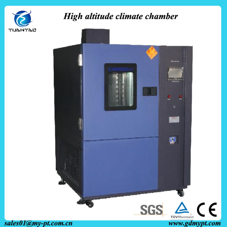 Touch Screen Controller High Altitude Low Pressure Chamber