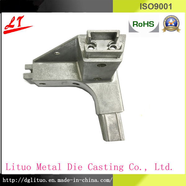Precision Aluminum Triangle Furniture Connector Parts by Die Casting pictures & photos