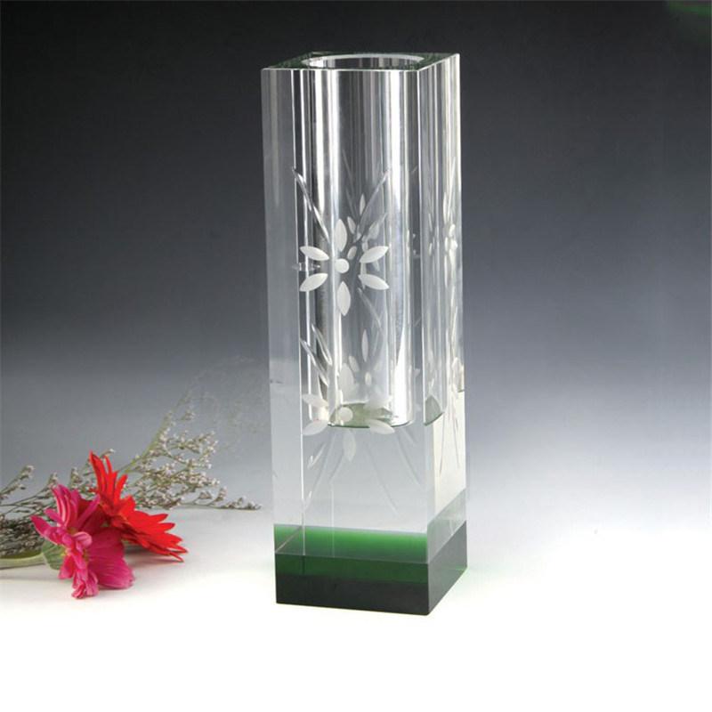 China High Quality Beautiful Crystal Vase Glass Vase For Wedding