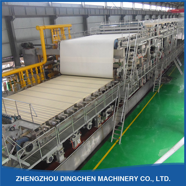 [Hot Item] 4400mm Double Wire Kraft Paper Machine From Haiyang Company