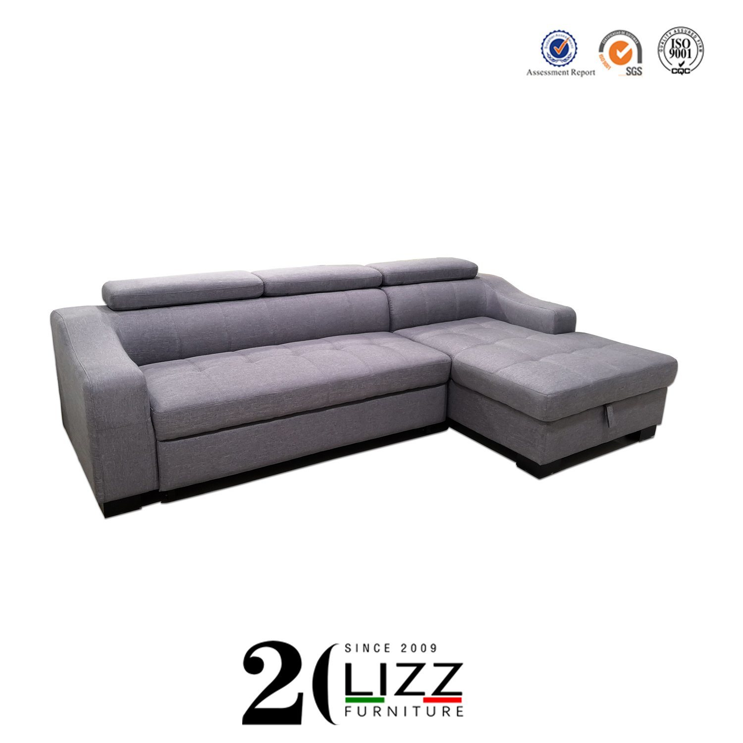 Home Funriture L Shaped Couch Sofa Bed