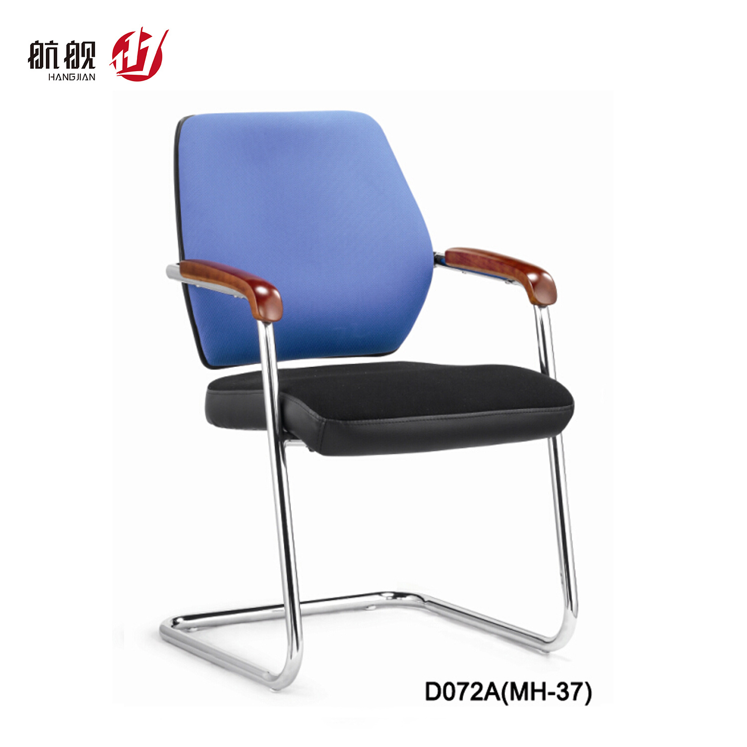 China Small Size Staff Meeting Visitor Leather Office Chair China Modern Chair Swivel Chair