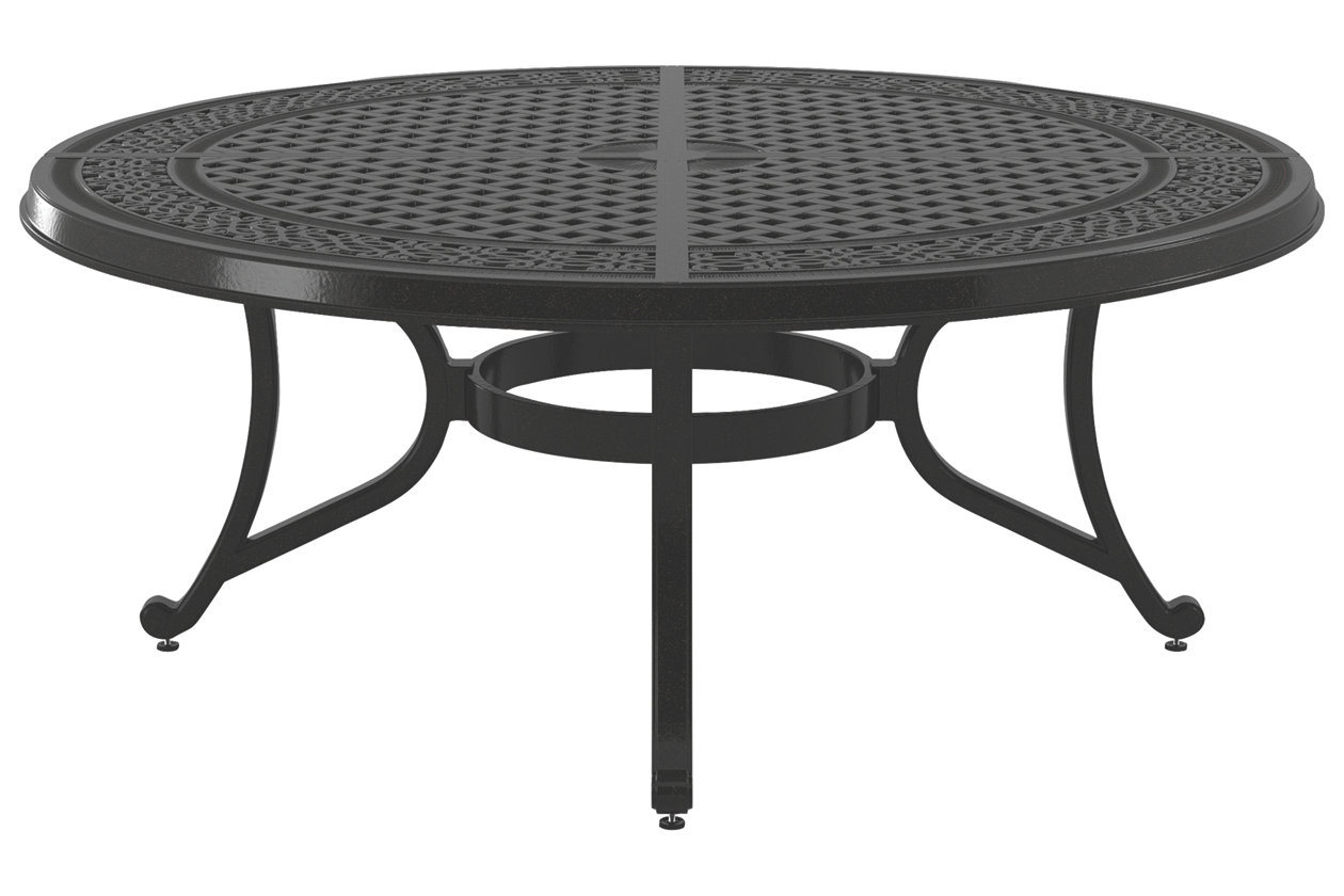 - China 033-708CT Cast Aluminum Coffee Table - China Garden Coffee
