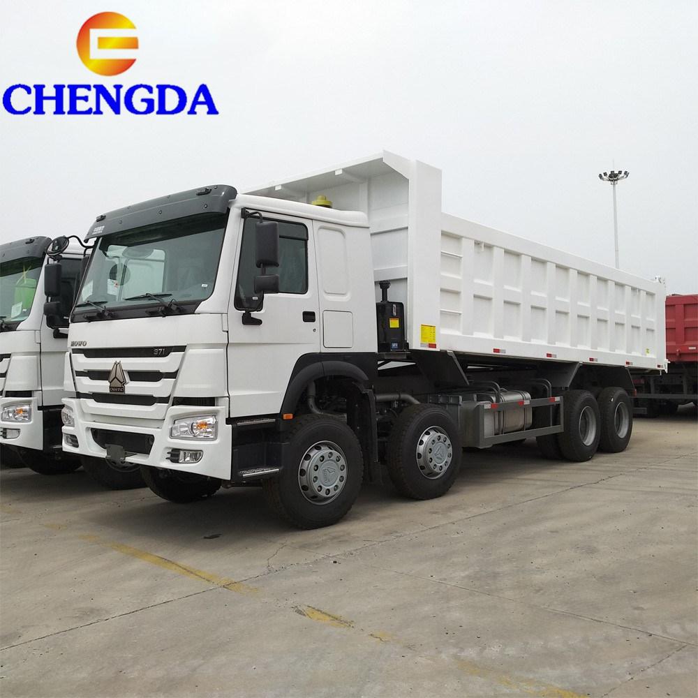 End Dump Truck >> China Howo 8x4 12 Wheel30m3 End Dump Tipper Dump Truck China Dump