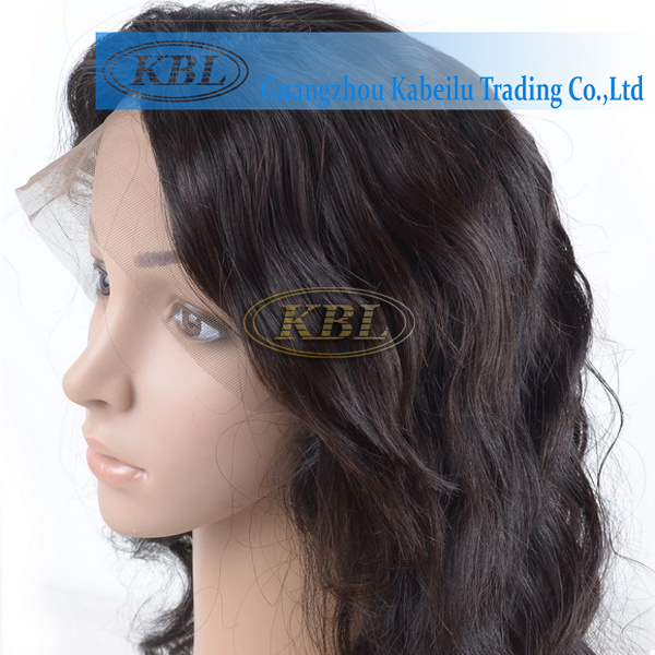 Real Remy Brazilian Silk Base Full Lace Wig Without Bang pictures & photos