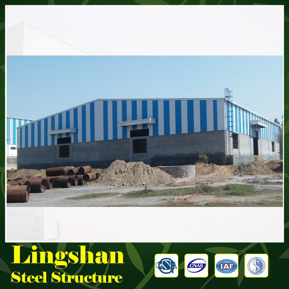 China Metal Warehouse / Steel Frame Building Kits - China Prefab ...