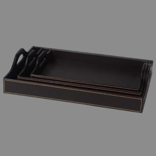 China Brown Leather Doent File Tray