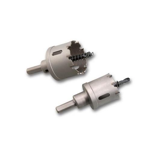 "1/"" TCT Carbide Hole Saw Cutter 1/"" Forstner Bit 1/"" HoleSaw Metal Cutter Drill Hog"