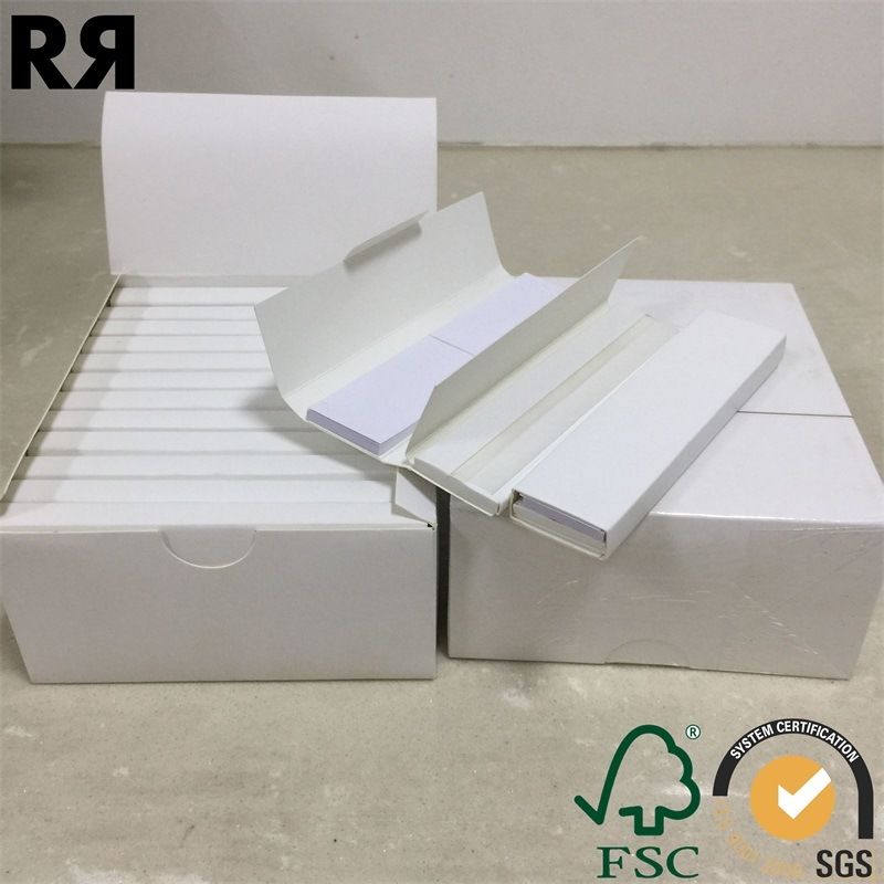 Richer Custom Brand Hemp Cigarette Smoking Rolling Paper with Filter Tips pictures & photos