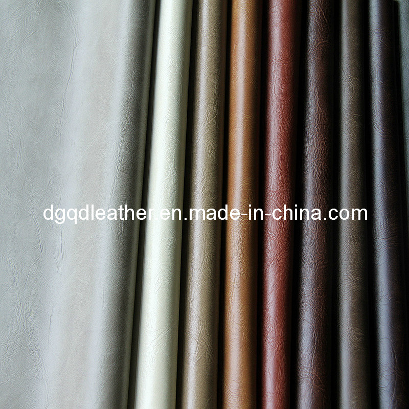 Classical Colors Bonded Furniture PU Leather (QDL-FB005)