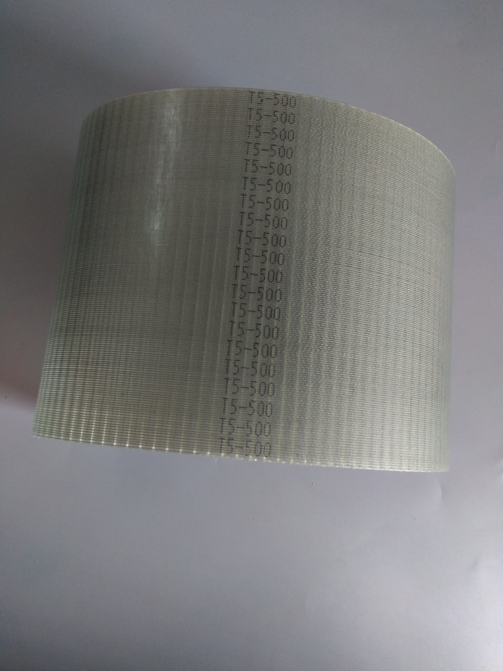 China Polyurethane Toothed Belt Timing Transmission T5 500