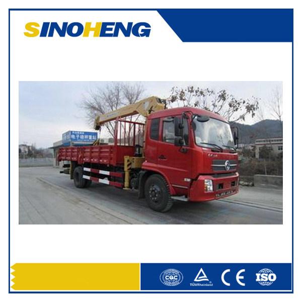 Sinotruk HOWO 8 Ton Telescopic Boom Truck Mounted Crane Sq8sk3q