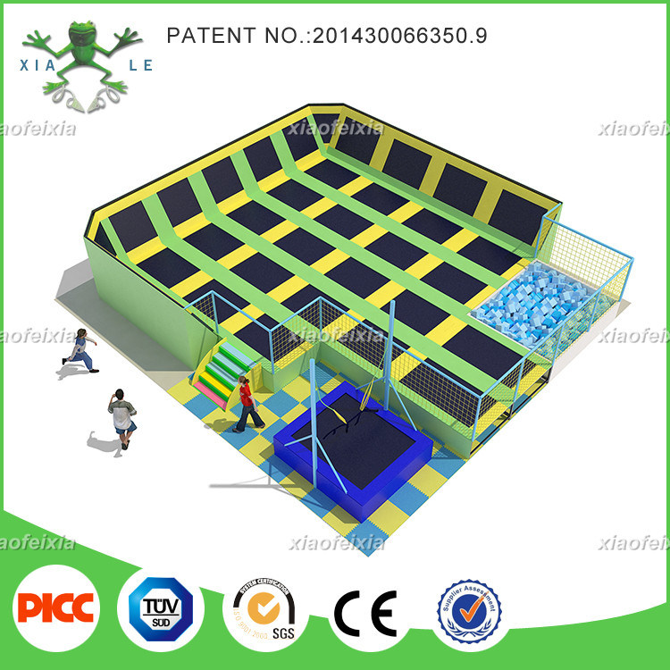 Xiaofexia Indoor Commercial Big Trampoline pictures & photos