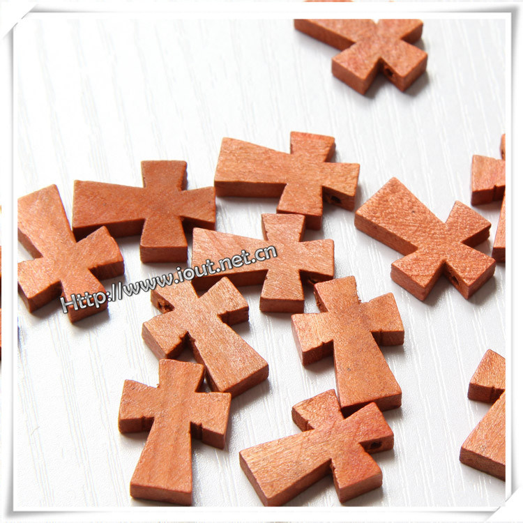 Little Wooden Rosary Cross (IO-cw031)