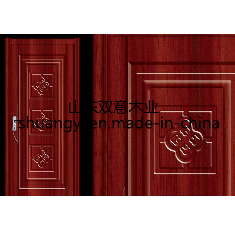 100%Hot Sale Chinese Pattern latest Design Wooden Door Design pictures & photos