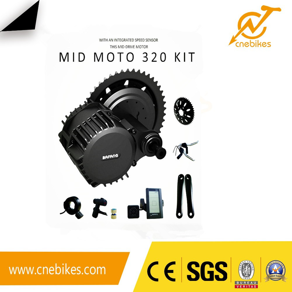 50km/H 48V 1000W MID Crank Motor BBS03 Electric Bike Kits pictures & photos