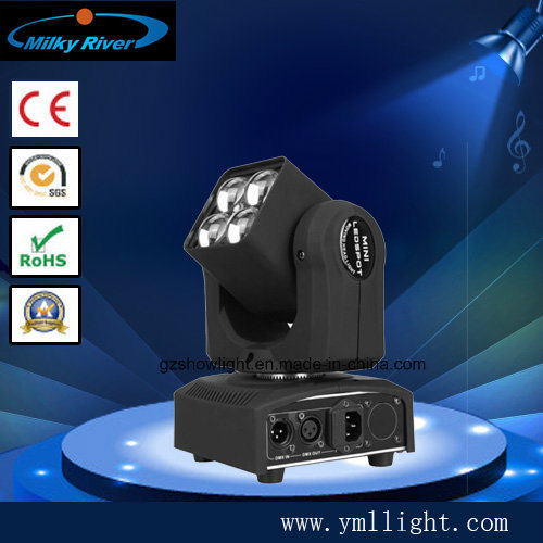 4PCS*15W RGBW 4in1 Mini LED Matrix Zoom Moving Head Light with Pixel and Irc Function New Light pictures & photos