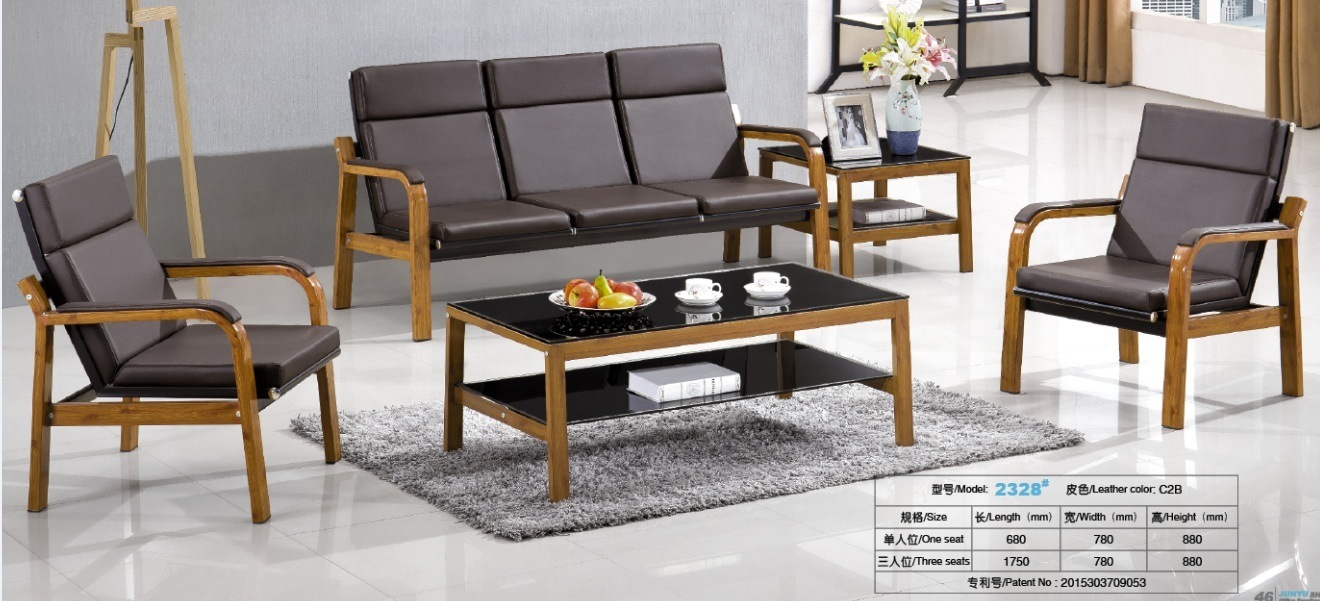 High quality cheap price modern design metal frame office sofa waiting sofa in stock 1 1 3