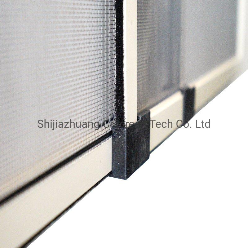 China Adjustable Window Screen Aluminum Alloy Ventilating Window Screen China Adjustable Window Screen Retractable Window Screen