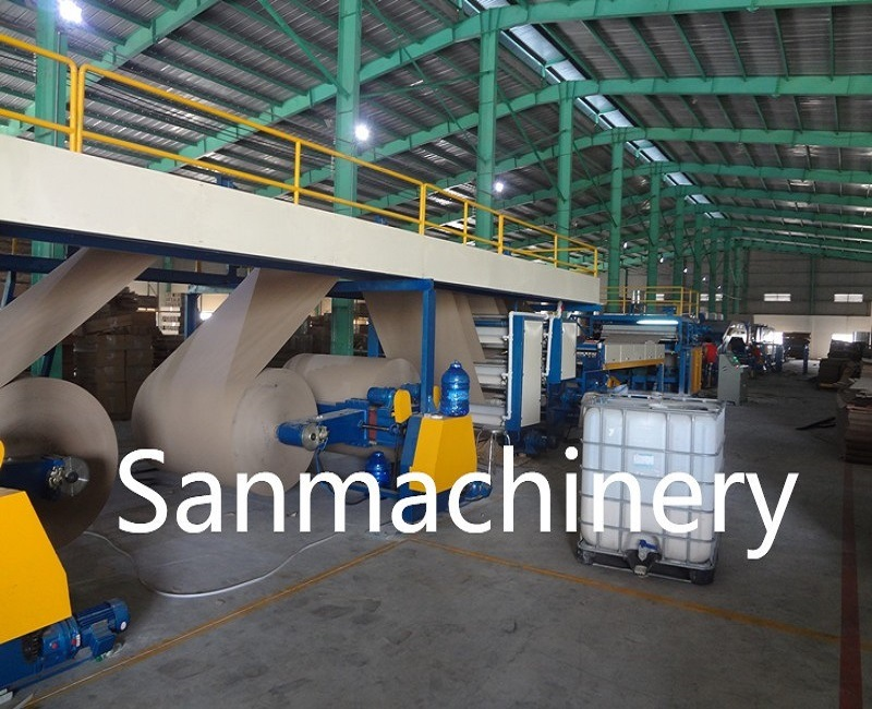 Ce Automatic Continuous Honeycomb Paper Board Making Machine pictures & photos