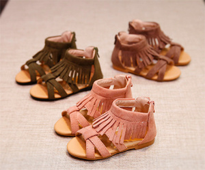 39ee2184135f China 2017 Summer Shoes Leather Glitter Kids Girls Baby Gladiator Sandals -  China Baby Gladiator Sandals