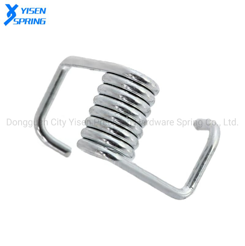 Customized Precision Metal Flexible Wood Clothespin Clamps Torsion Spring pictures & photos