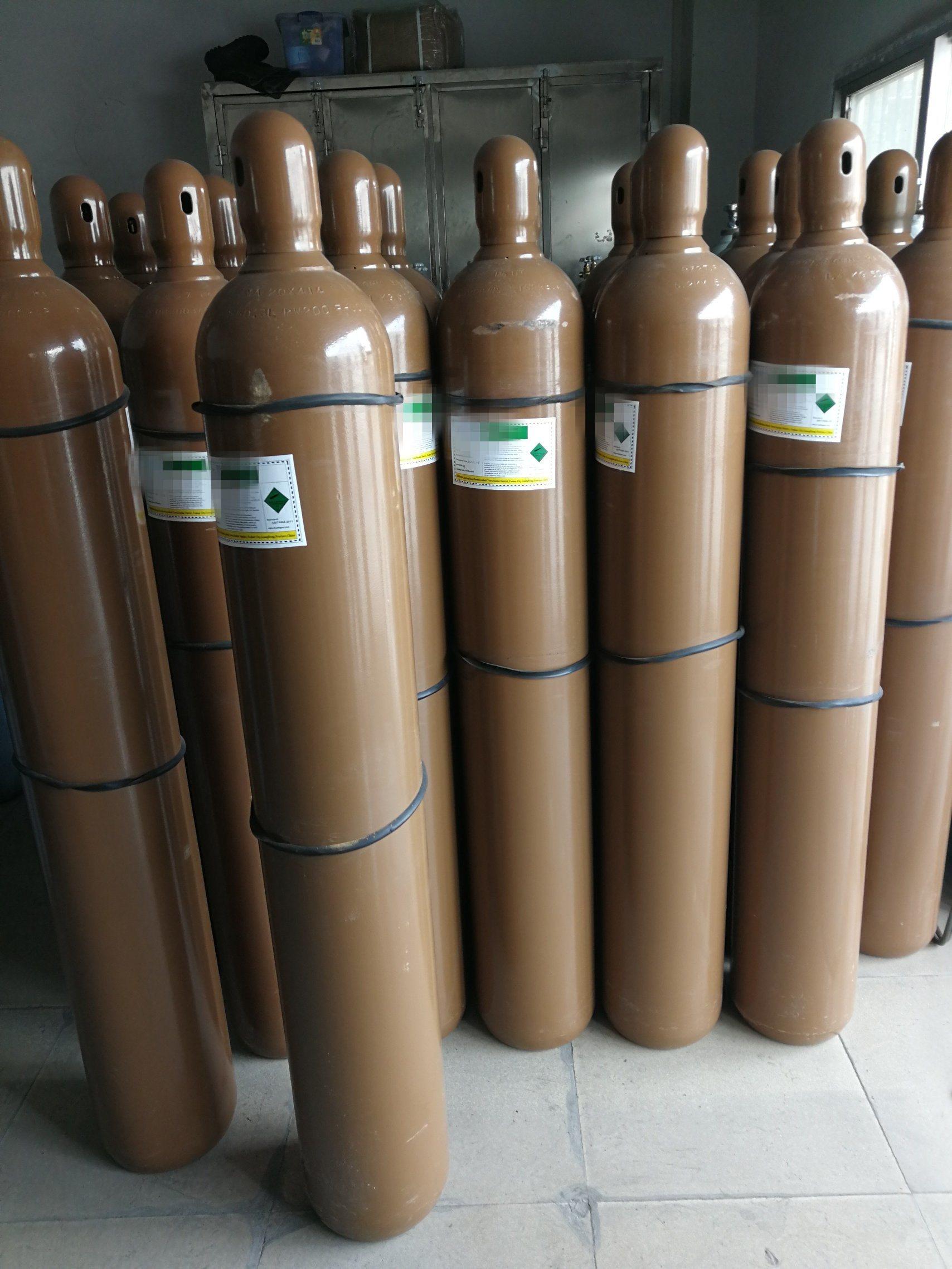 Seamless Steel Gas Cylinder 99.9% Medical N2o Nitrous