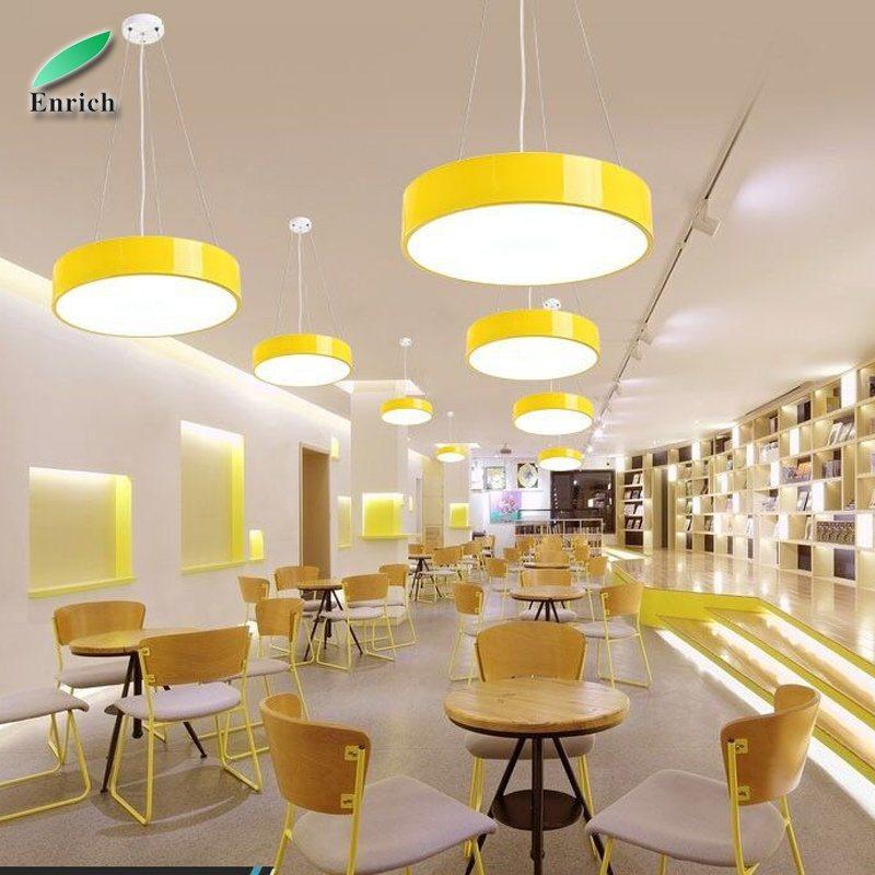 [Hot Item] Circular Dining Room Chandeliers Lamps Modern LED Pendant Light