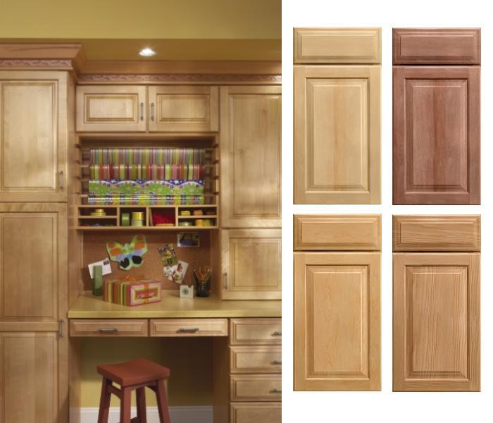 China Solid Maple Raised Panel Kitchen Cabinet (HJKC-26