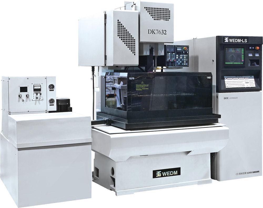 China CNC Brass Wire Cut EDM (DK7632) - China Wire Cutting Machine ...