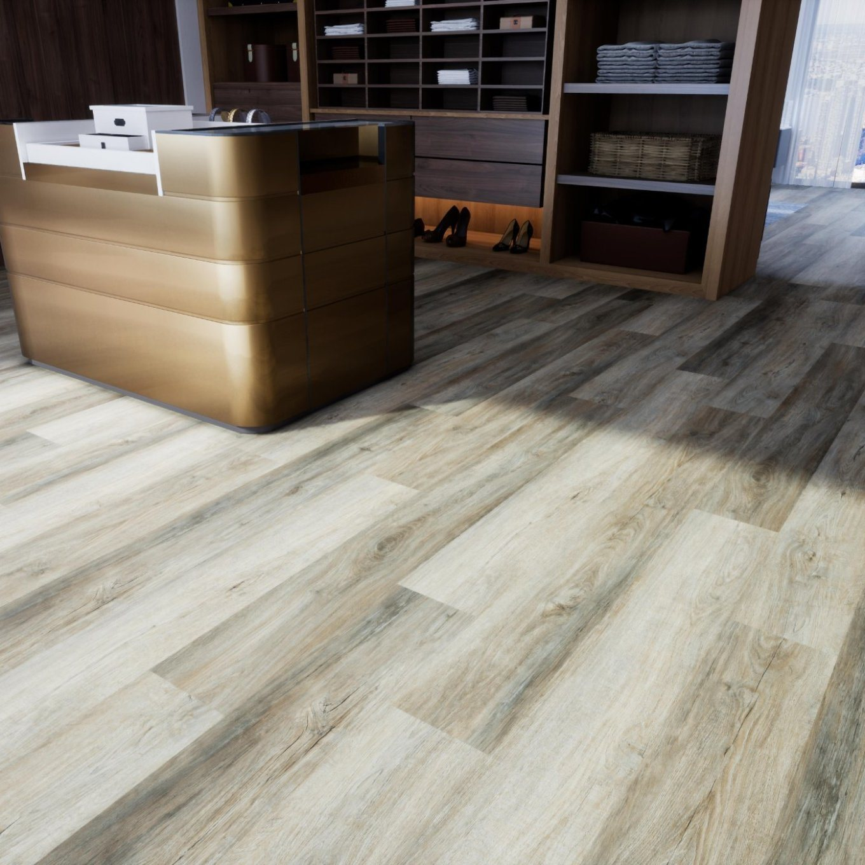 China Mosaic Vinyl Flooring On Concrete, Southwind Laminate Flooring