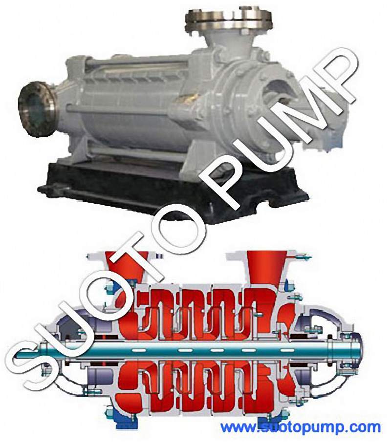 D Type High Pressure Horizontal Multistage Pump
