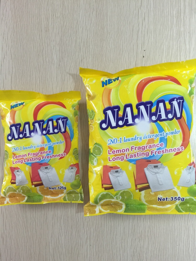 Nanan (Lemon fragrance) for Laudry Washing Powder, Detergent Powder, Clothes Washing Powder, Bulk Detergent Powder, China Detergent Manufacture pictures & photos