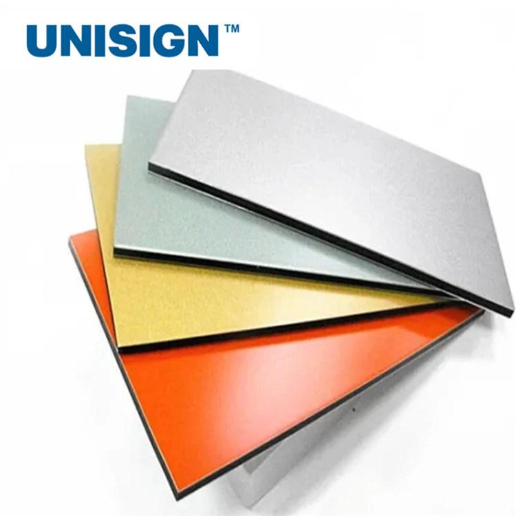 Aluminum composite plastic material 4mm PVDF coating ACP