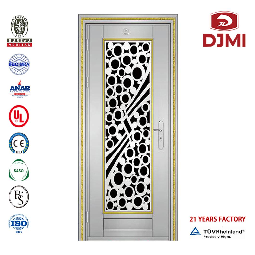 China New Settings Double Doors Exterior House Front Grill Design Stainless Steel Door China Steel Security Doors Balcony Door