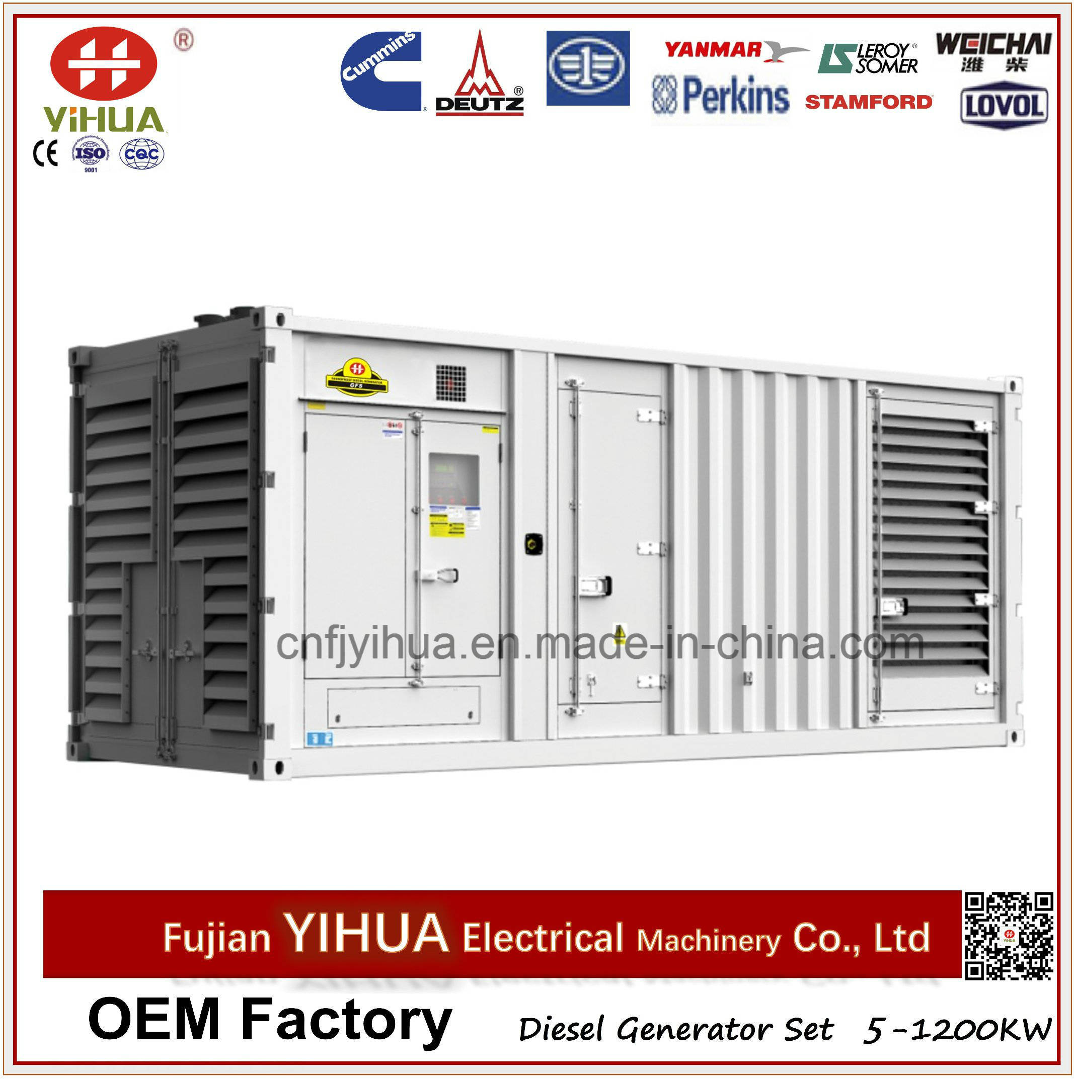 China 1000kw 1250kva Container Silent Soundproof Diesel Generator Transfer Switch Wiringautomatic Suyang Atsautomatic Set With Cummins