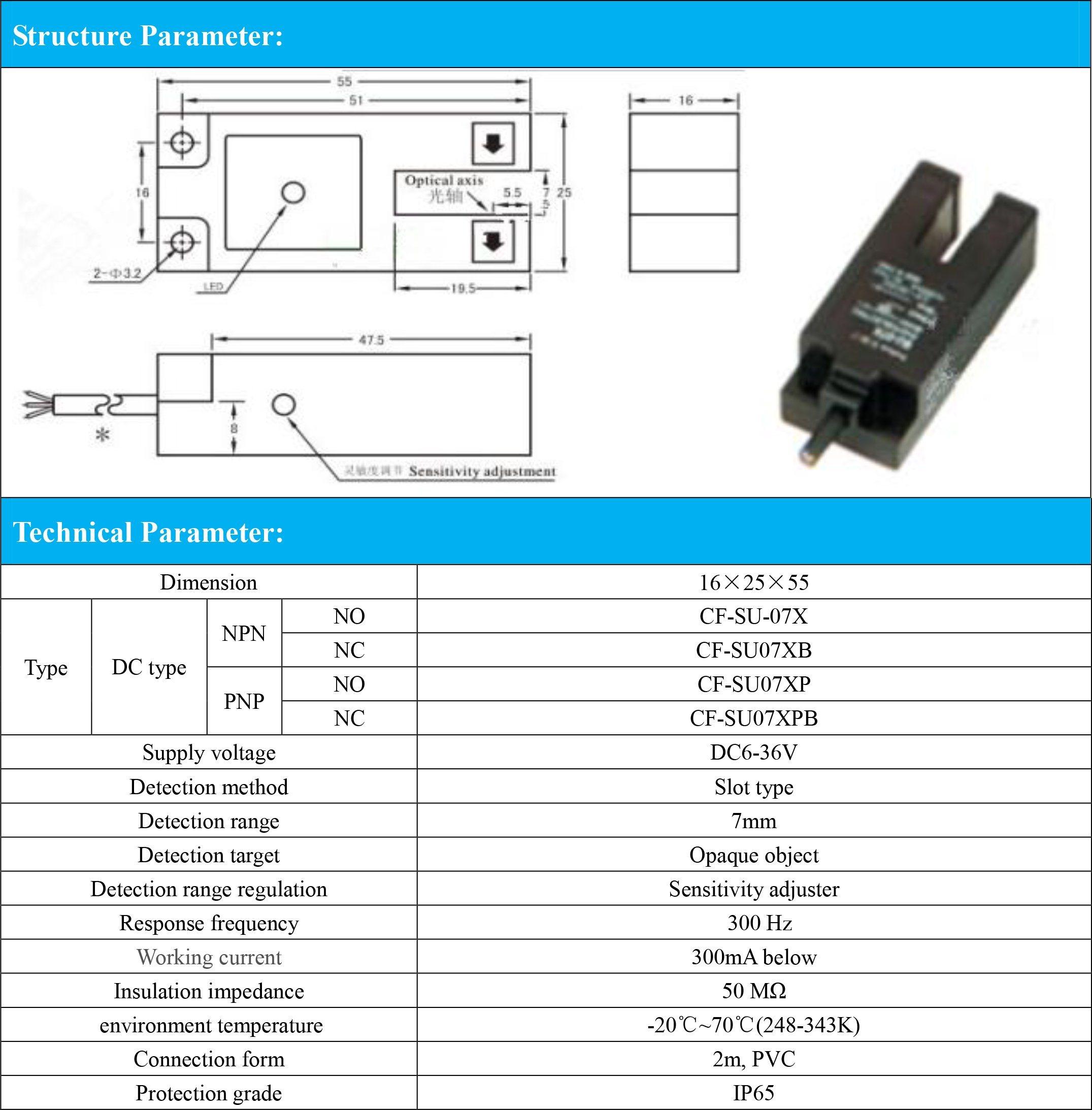China Pnp Nc Slot Type 7mm Detection Range Photoelectric Switch Dc Wiring Diagrams Sensor