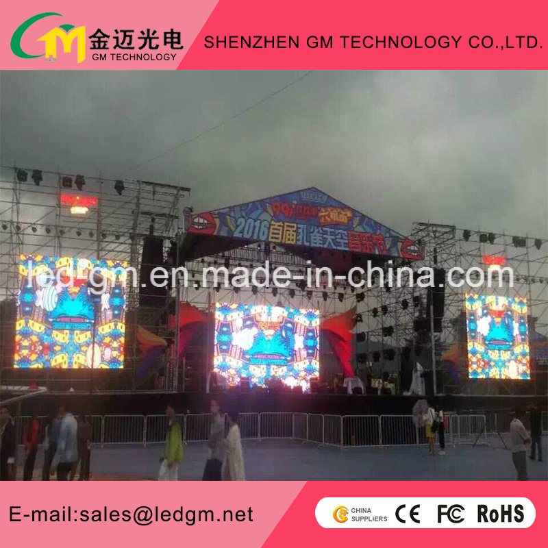 Glass LED/3D Video Wall Price Full Color/Rental LED Screen P5 pictures & photos