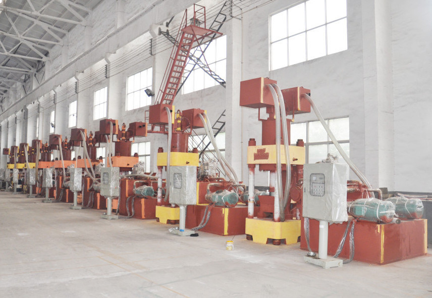 Briquetters Automatic Aluminum Iron Metal Scrap Hydraulic Briquette Recycling Machine-- (SBJ-630)