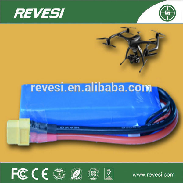 China Supplier 22.2V10ah High Ratio of Polymer Battery for Unmanned Aerial Vehicle and Model Airplane