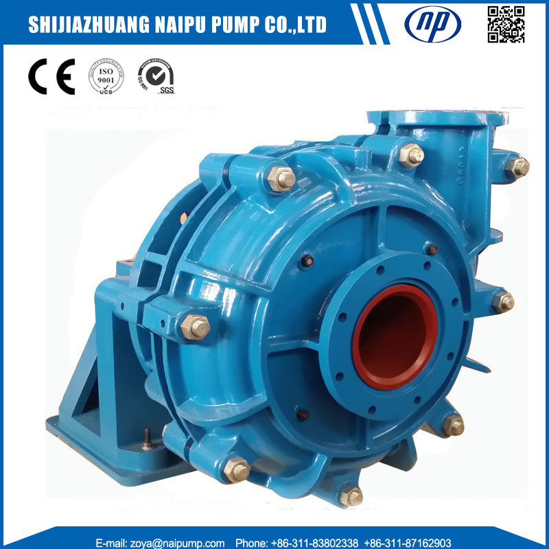[Hot Item] China OEM Slurry Pump Factory Ore Treatment Horizontal  Centrifugal Slurry Pump for Sale