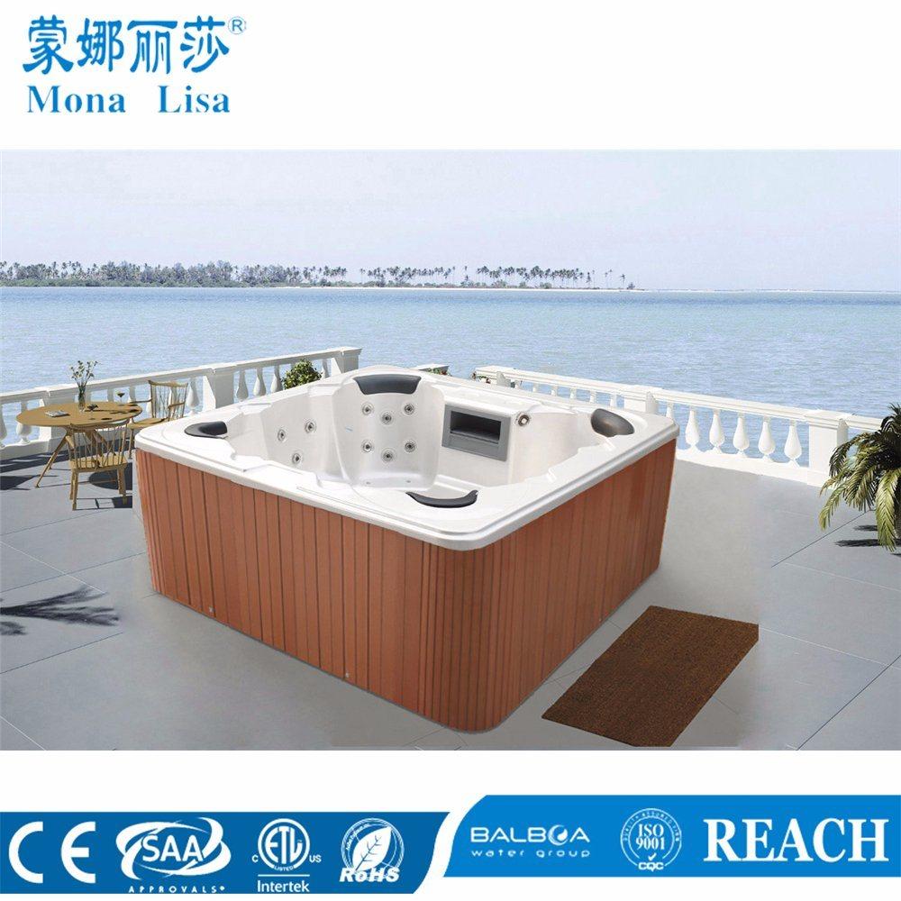 China Monalisa Acrylic Outdoor Whirlpool Hot Tub Jacuzzi Massage ...