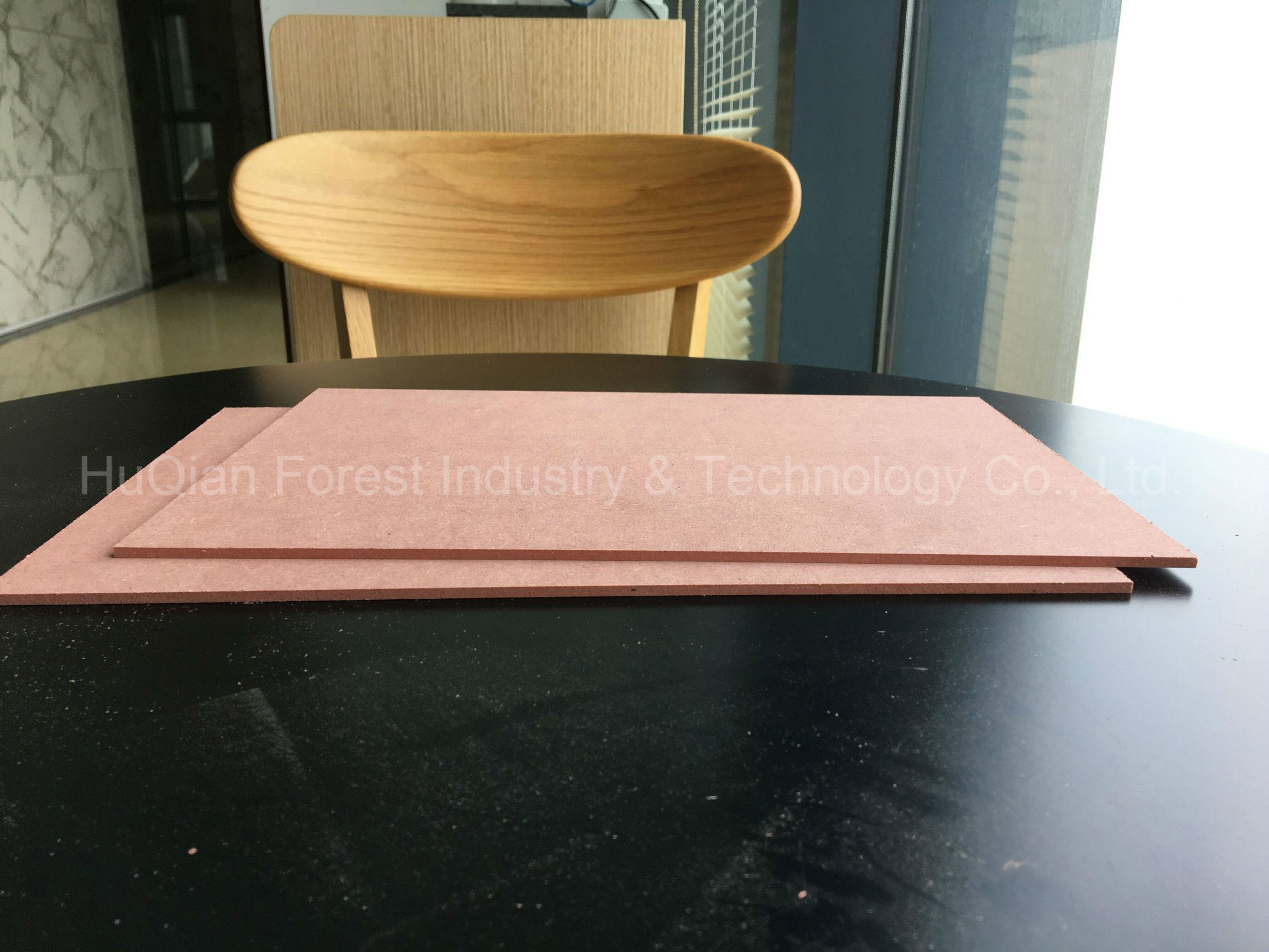 Colored Fire Retardant MDF 1220mmx2440mmx5mm B1 C With Cheap Price