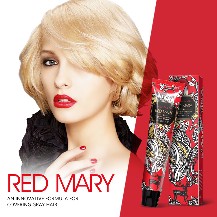 Trend Leading Low Ammonia High Quality Permanent Hair Color pictures & photos