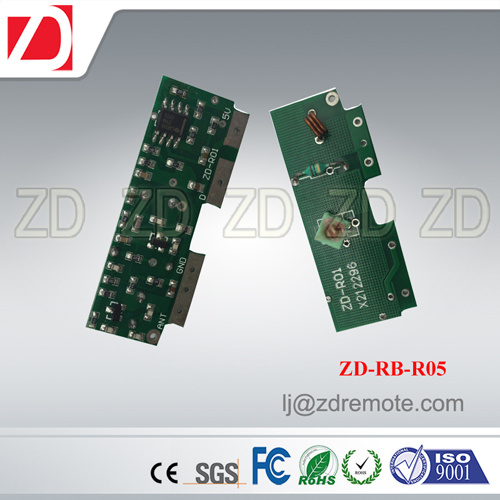 Best Price 433MHz RF Receiver Module Superregeneration for Motorcar Alarm System Zd-Rb-R02