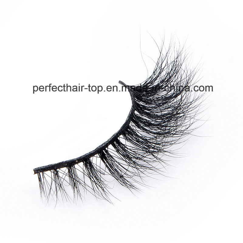 China 100 Mink Lashes Wholesale Trade Exported 3d Mink False