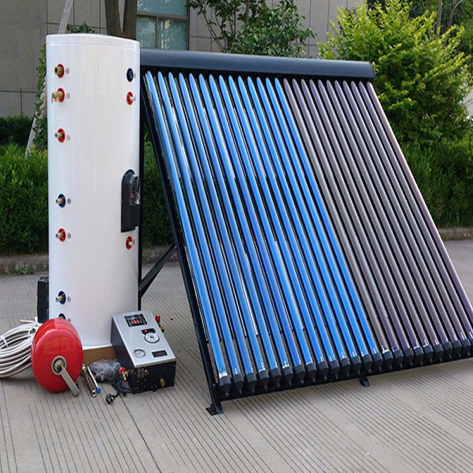 China Split Pressurized Solar Collector Water Heater/Solar Water ...